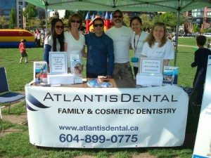 atlantis dental yaletown dentist team community events oral health care