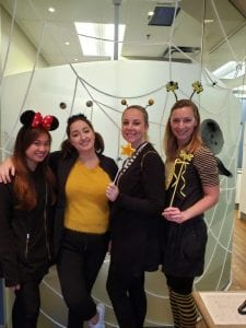 halloween fun at Atlantis Dental Yaletown